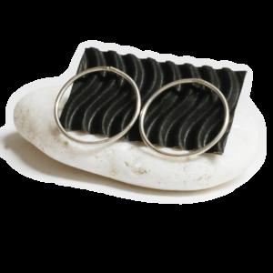 Σκουλαρίκια Silver Circles 1 300x300 - valora image
