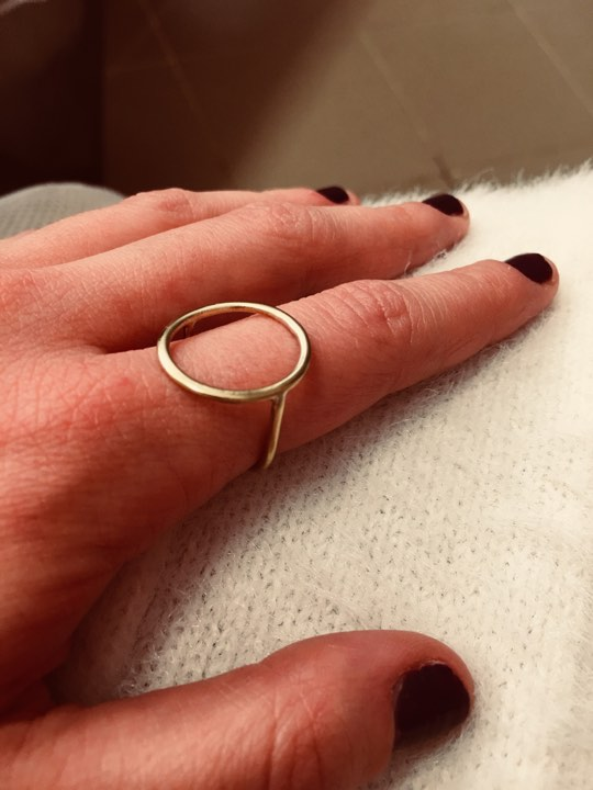 Minimal Circle Ring 2 - valora image