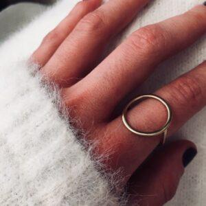 Minimal Circle Ring 4