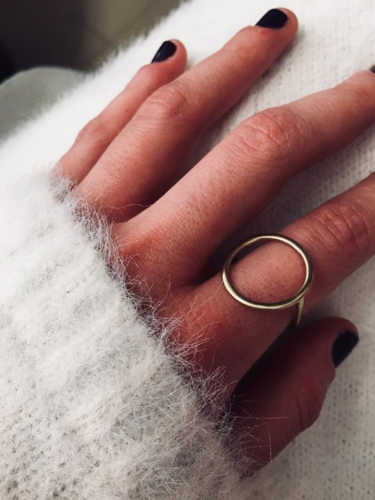 Minimal Circle Ring 4 - valora image