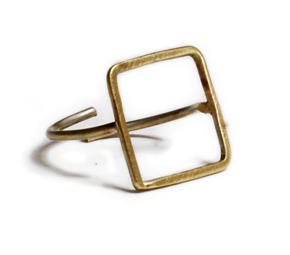 Minimal Square Ring 1 - valora image