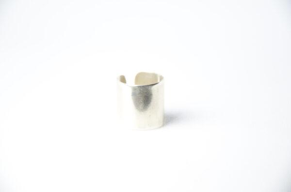 Δαχτυλίδι φαρδύ από ασήμι