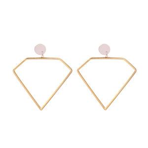 Κρεμαστά σκουλαρίκια diamonds