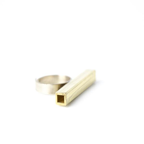 Δαχτυλίδι μπρούτζινο χειροποίητο valora