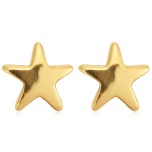 Σκουλαρίκια stud αστεράκια χρυσά