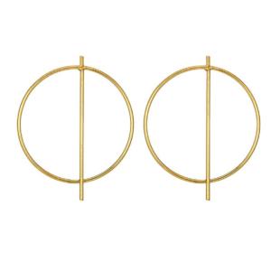 Χρυσά σκουλαρίκια Φ